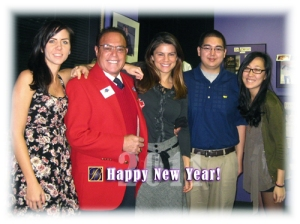 Part of the BERKMAN crew - New Year's 2011